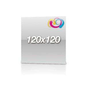 Flyer 120x120 Hochglanz Folienkaschiert