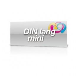 Postkarte DinLang-Mini