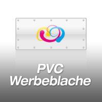 PVC-Werbeblache 100cm-Hoch