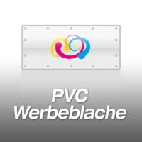 PVC-Werbeblache 140cm-Hoch