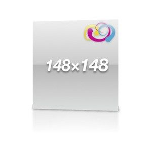 Aufkleber 148x148 PVC
