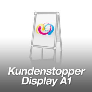 Kundenstopper (Display) A1 inkl. Druck