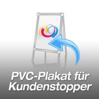 PVC-Plakat für Kundenstopper