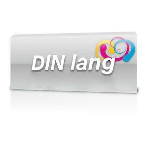 Flyer DinLang Hochglanz Folienkaschiert