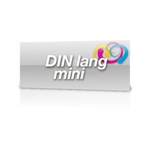 Flyer DinLang-Mini 250g/m2