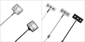 RollUp Lampen Varianten (LED oder Halogen)